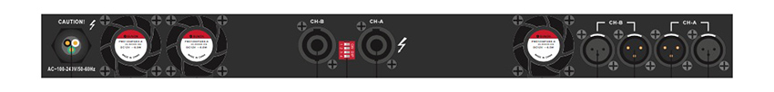 Amply Wharfedale DP 2200
