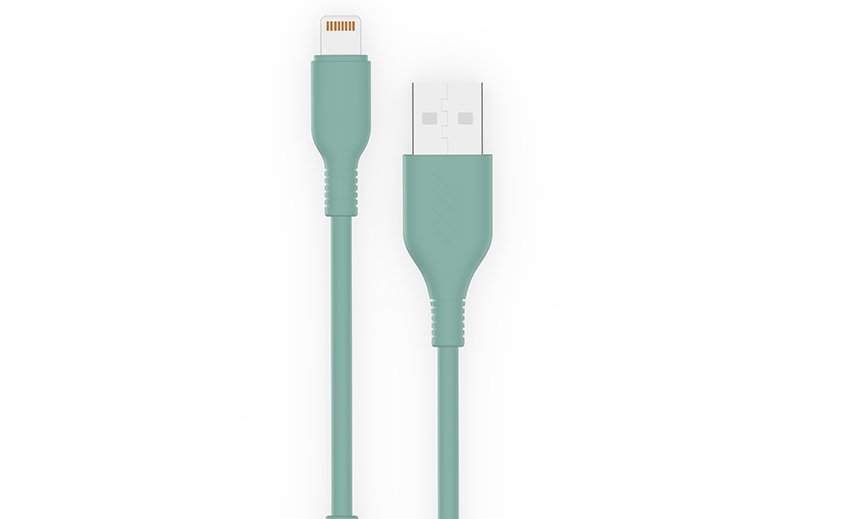 Cáp Lightning Innostyle Jazzy 1.5M USB A Teal