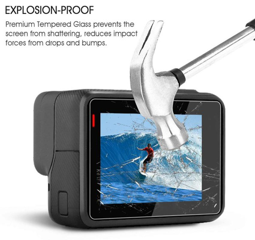 GoPro Tempered Glass Lens + Screen Protector