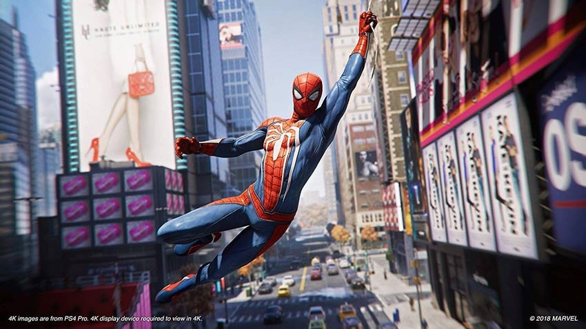 Đĩa Game PS4 Spider-man GOTY Edition