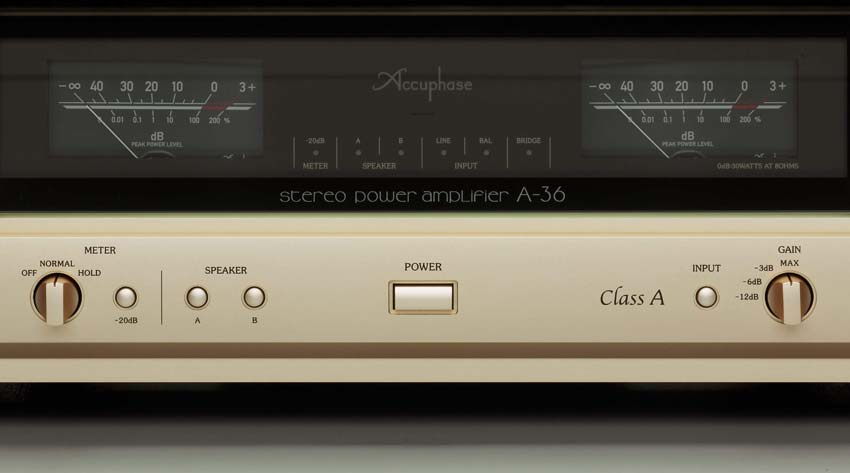 Power Amply Accuphase A-36