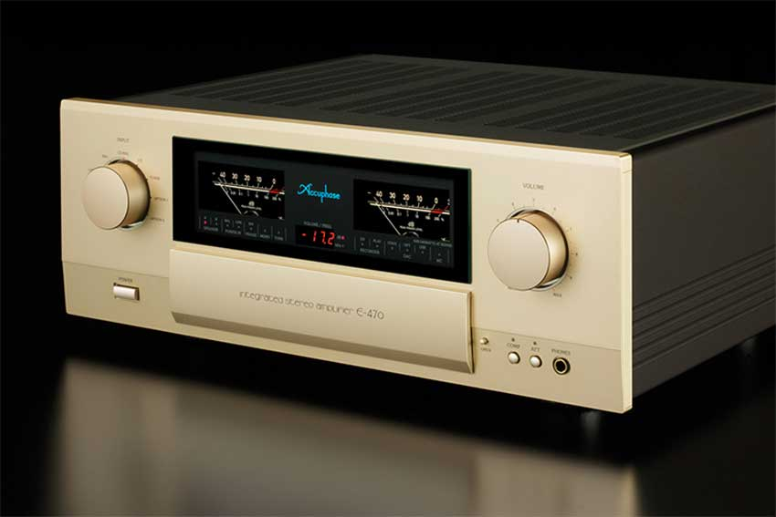 Integrated Amply Accuphase E-470