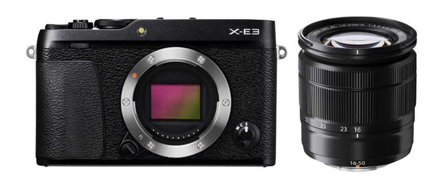 Fujifilm X-E3 + 16-50mm Black