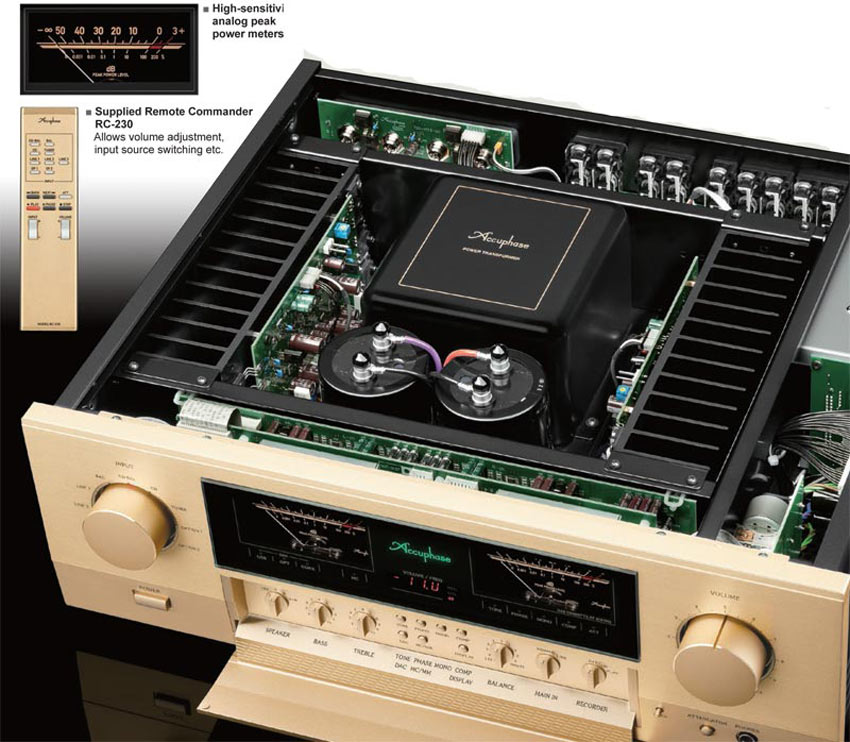 Amply Accuphase E-380