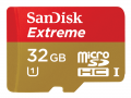 SDSDQX 32GB Micro Extreme C10 80MB/s Android