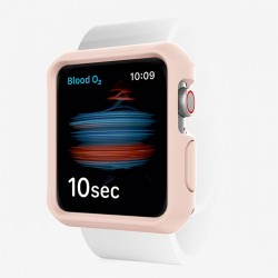 Ốp lưng ITSKINS (France) Spectrum Solid Drop Safe 2M/7FT - Antimicrobia for Apple Watch SE/6/5/4 44MM Light Pink