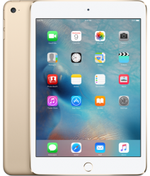 iPad Mini 4 Wifi + Cellular 128GB Gold