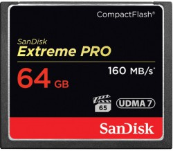 SanDisk Extreme Pro CF 64GB 160MB/s | 1067x