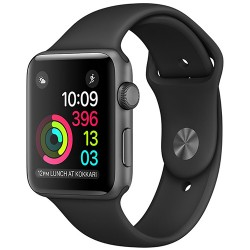 Apple Watch Series 2 42mm Space Gray Aluminum Case Sport Black (MP062)