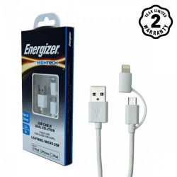 Cáp 2 in 1 HT Lightning-Micro USB 1.2m