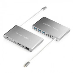 Hyperdrive Ultimate USB-C Hub for MacBook, PC & Devices