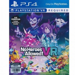 Đĩa Game PS4 No Heroes Allowed !