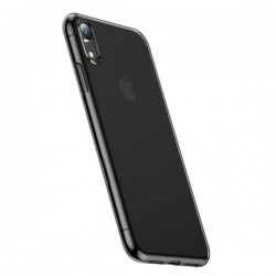 Ốp Baseus Simplicity Series for iPhone XR Transparent Black