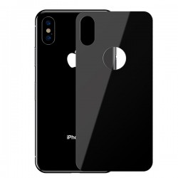 Dán chống vỡ Baseus Full coverage curved rear protector For iPhone XS Max Black