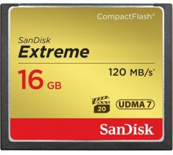 Sandisk CF Extreme - 16GB / 800x / 120mb/s