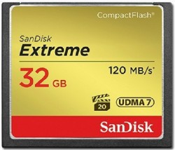 Sandisk CF Extreme - 32GB / 800x / 120mb/s