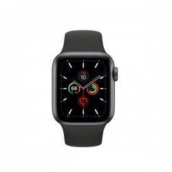 Apple Watch Series 5 (GPS, 40mm, Space Gray Aluminum Case, Sport Band)