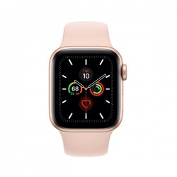 Apple Watch Series 5 (GPS, 44mm, Gold Aluminum Case, Sport Band)
