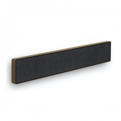 Loa B&O Beosound Stage Smoked Oak Frame with Grey Kvadrat Fabric Cover (Chính Hãng)