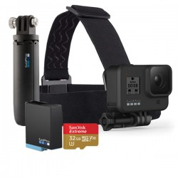 GoPro HERO 8 Holiday Bundle Black (Chính Hãng)