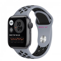 Apple Watch Nike   Series 6 (GPS, 40mm, Space Gray Aluminum Case, Obsidian Mist/Black)