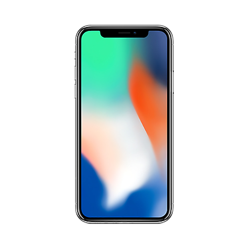 iPhone X 64GB Silver-3