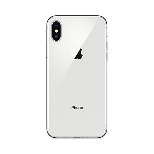 iPhone X 64GB Silver-2