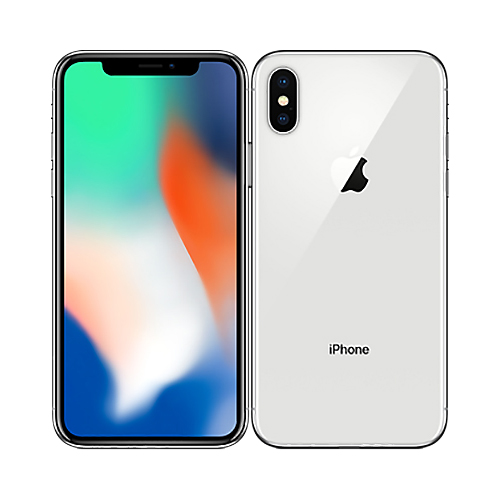 iPhone X 64GB Silver-1