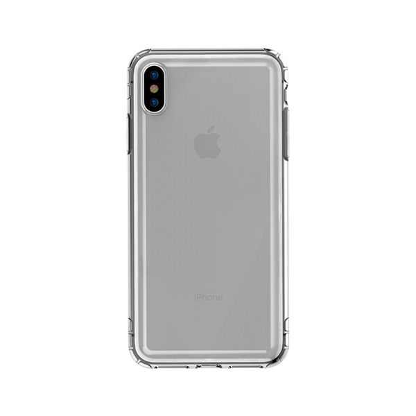 Ốp Baseus Safety Airbags for iPhone XS Max Transparent Black-2
