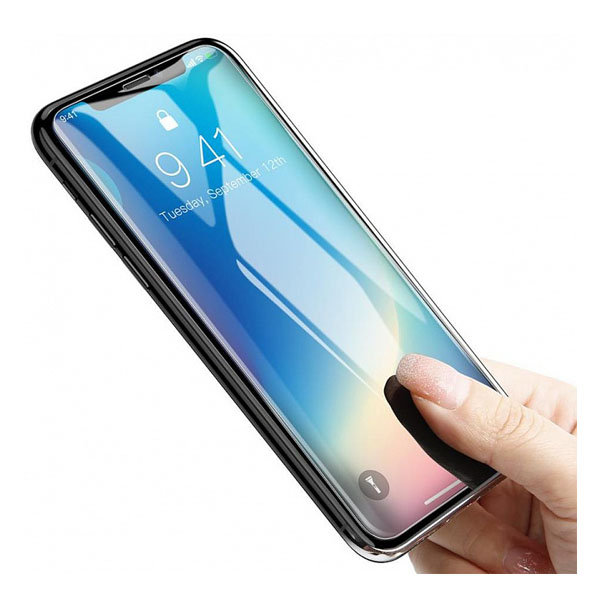 Dán chống vỡ Baseus 0.3mm Full-glass Film For iPhone XS Max-ES02-2