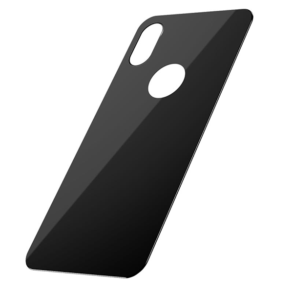 Dán chống vỡ Baseus Full coverage curved rear protector For iPhone X/XS Black-2