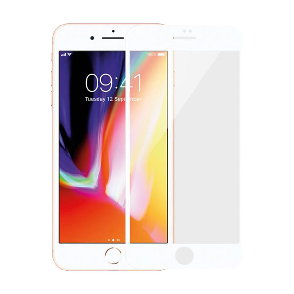 Miếng dán cường lực Mipow Kingbull HD for iPhone 7/8 Plus White