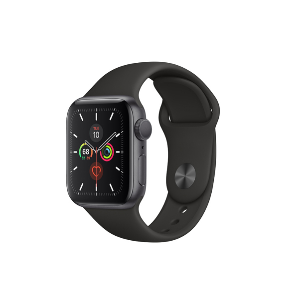 Apple Watch Series 5 (GPS, 40mm, Space Gray Aluminum Case, Sport Band)-2