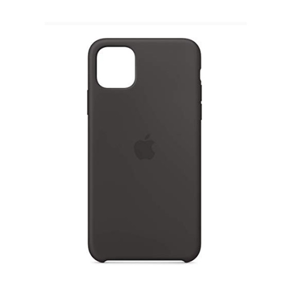 Ốp lưng Silicone cho iPhone 11 Pro Black-1
