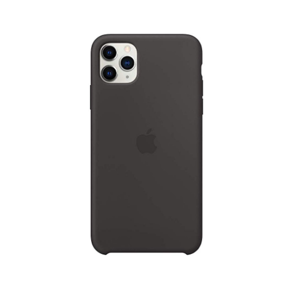Ốp lưng Silicone cho iPhone 11 Pro Black-4
