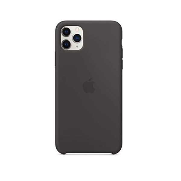 Ốp lưng Silicone cho iPhone 11 Pro Max Black-2