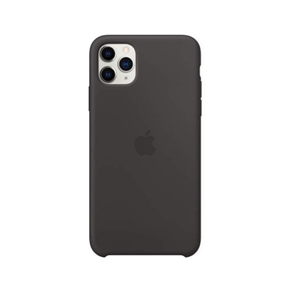 Ốp lưng Silicone cho iPhone 11 Pro Max Black-3